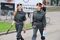 Nordic Blonde in Uniform: Russian Female Police