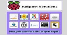 Servidor basado en Raspberry PI con panel de gestión centralizada