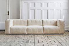 banken loft76 on pinterest hay modular sofa and inredning. Black Bedroom Furniture Sets. Home Design Ideas