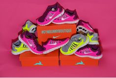Nike Free 5.0 Pink Volt Pack 2014 Shoes - Click Image to Close