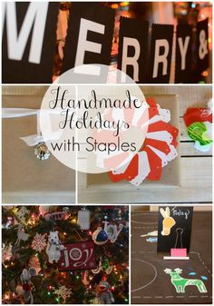 Handmade Christmas Ornaments - All Things Heart and Home