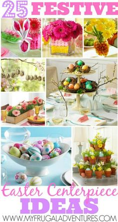 25 Fun Easter Centerpiece Ideas