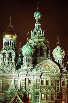 The Church of the Saviour on Spilled Blood, St Petersburg