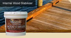 A Non Toxic Alternative for  Waterproofing Wood  Increase the density and hardness of wood from the inside out