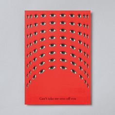 Political flyer by Jaemin Lee + Heesun Kim for Graphic Magazine, based on the idea of a Panopticon, a Greek word that derives from 'pan' or 'all', and 'opticon,' to 'observe' . . . #graphicdesign #pattern #illustration