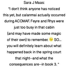 - A court of mist and fury by Sarah J mass<<<OH MY YES