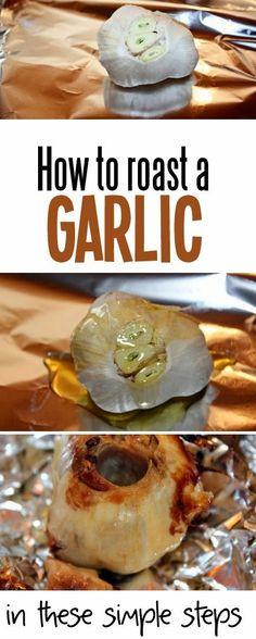 A Fine Feed: How to Roast a Garlic