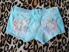 Gem Fatale: DIY Pocket Patch Shorts