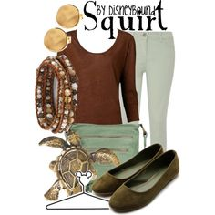 """Squirt"" by lalakay on Polyvore #disney"