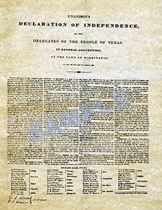 Texas Declaration of Independence 1836 THES http://www.amazon.com/dp/B00C41H9CK/ref=cm_sw_r_pi_dp_6bJuvb06GZBBF