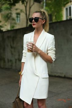 12 Ways to Rock a Blazer like a Fashion Girl via Brit Co