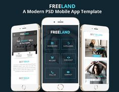 16 best mobile template images mobile web mobile app templates