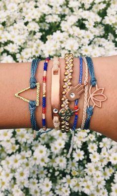 Bracelet goals from Pura Vida <3
