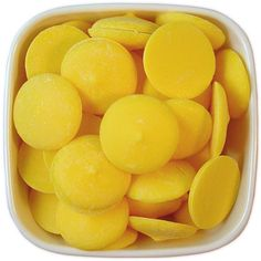 Yellow Candy Melts 1 LB - bright yellow melting chocolate wafers for cakepops or chocolate making Chocolate Candy Melts, Chocolate Wafers, Chocolate Molds, How To Make Chocolate, Melting Chocolate, Yellow Candy, Colorful Candy, Dessert Bars, Dessert Table