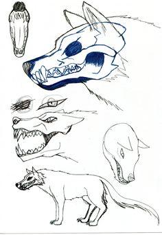 Wolf Sketch by LoletaBittersweet on DeviantArt