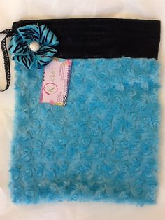 Blue Cotton Candy Grip Bag by jnknox1 on Etsy, $22.00