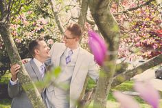Jason and Jason married at Harbor View Park in Cape May, NJ. Read their Real Wedding feature on Equally Wed, the leading same-sex wedding magazine.  Photo: Tara Beth Photography