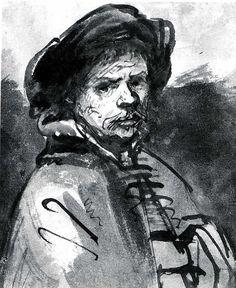 Rembrandt (Rembrandt van Rijn) (Dutch, 1606–1669) (reworked by another hand). Self-Portrait, 1635-40. The Metropolitan Museum of Art, New York. Robert Lehman Collection, 1975 (1975.1.800)