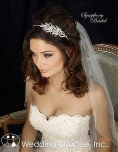 Symphony Bridal Headpiece 7316CR