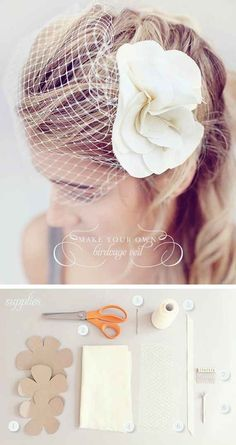 DIY Veil | 37 Things To DIY Instead Of Buy For Your Wedding