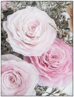 Wil ik ook nog leren ........papieren rozen maken!!