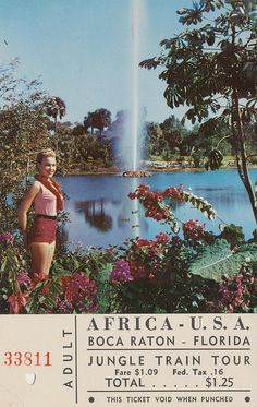 Africa U.S.A. - Boca Raton, Florida #bocaraton | digital media arts college | www.dmac.edu | 561.391.1148