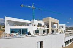Costas & Casas: Building in Marbella and Costa del Sol Marbella Property, Real Estate News, Spain, Multi Story Building, Construction, Mansions, Architecture, House Styles, Outdoor Decor