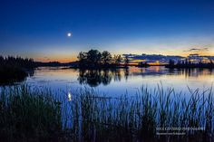 Night Photography Lake in Northern by SoulCenteredPhotoart on Etsy