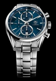 TAG HEUER CARRERA Calibre 1887 Chronograph - 41mm | Watch for Men | TAG Heuer…