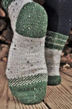 Charlie Socks Patttern - Knitting Patterns and Crochet Patterns from KnitPicks.com Knitted Socks