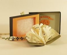A Forest for Two, a miniature artist's book, by Elsa Mora