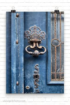 Beautiful French blue door wall decor print for classic European style! Click on the picture now for details and more options>>  #artprints #artprintsforsale  #artprintsonwall