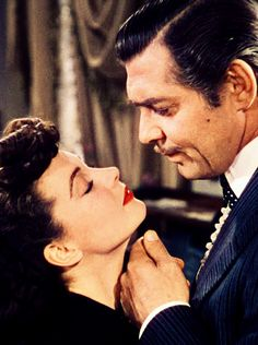 "Gone With the Wind~No, but you need to be kissed ; and not by one of those ""boys""... but by a man... a man like me!"