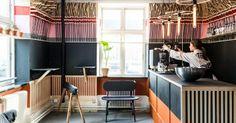 Henrik Vibskov - coffee shop 'Den Plettede Gris'