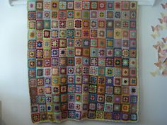Crochet Blanket Crochet Granny, Knit Crochet, Rowan, Fabric Art, Handmade Crafts, Arts And Crafts, Weaving, Karen, Embroidery