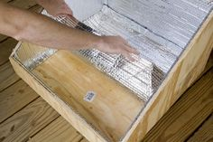 Harness the power of the sun by making a DIY solar oven.