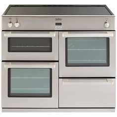 Buy Belling DB4 100Ei Professional Induction Hob Range Cooker, Stainless Steel Online at johnlewis.com £1499 - Shall we think about all electric - sleeker?