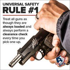 Gun safety rule 1 #safety