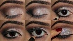 Por la noche te puedes permitir el lujo de pintarte los ojos de una forma más llamativa. No tengas miedo y prueba a mejorar tu técnica con este tutorial. Te enseñamos cómo deslumbrar en las fiestas nocturnas.