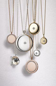 Astley Clarke 'Little Astley' Locket Pendant Necklace