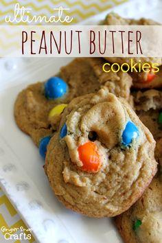 Ultimate Peanut Butter Cookies