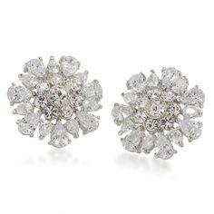Earrings Button | Uptown Girl Pierced | Carolee Jewelry #straight