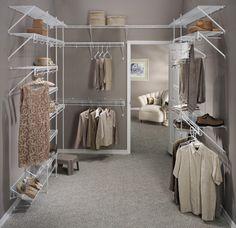Sarah\'s Real Home: Dressing Room Reveal | Elfa closet system ...