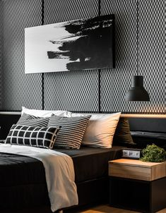 Finest Fashionable Inside Design Concepts For Your Residence Ornament Modern Bedroom Design, Modern Interior Design, Modern Decor, Home Living Room, Living Room Decor, Bedroom Wall, Bedroom Decor, Bedroom Ideas, Luxurious Bedrooms