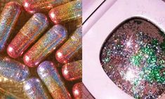 """""""People Now Eating Glitter Pills to Make Their Poop Sparkle"""" Nothing in today's society surprises me anymore, But this is just stupid on all levels. Do you agree? Glitter Pills, Unicorn Foods, Edible Glitter, One Design, Sparkle, Fancy, Make It Yourself, People, Stupid"""