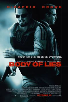 Director: Ridley Scott Writers: William Monahan (screenplay), David Ignatius (novel) Stars: Leonardo DiCaprio, Russell Crowe, Mark Strong Genres: Action, Drama, Thriller   Body of Lies (2008) Movie Watch Full Online: WatchVideo Watch Full Body of Lies (2008) Movie Watch Full Online:…Read more →