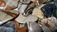 Picasso Marble   Also known as Picasso Stone and Picasso Jasper. It is found in the USA. It is marble with designs and color combinations of black, brown yellow or white. It is a fabulous stone for artists as it is very good for change, creativity , perseverance and art. It grounds and calms and is helpful for stress and anxiety.  Picasso Marble helps your circulation, metabolism, digestion, weight loss and carpal tunnel syndrome