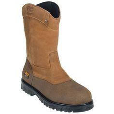 Timberland Pro Boots 89604 Mens Waterproof EH Wellington Steel Toe Boots