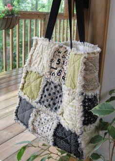 patchwork rag bag