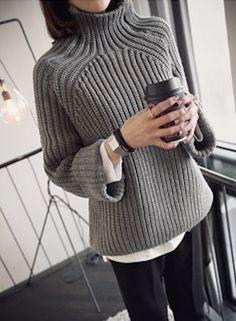 Oversized sweater, knitwear